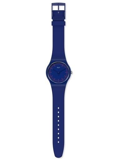 Swatch Suon146 BLUENRED Kol Saati Mavi